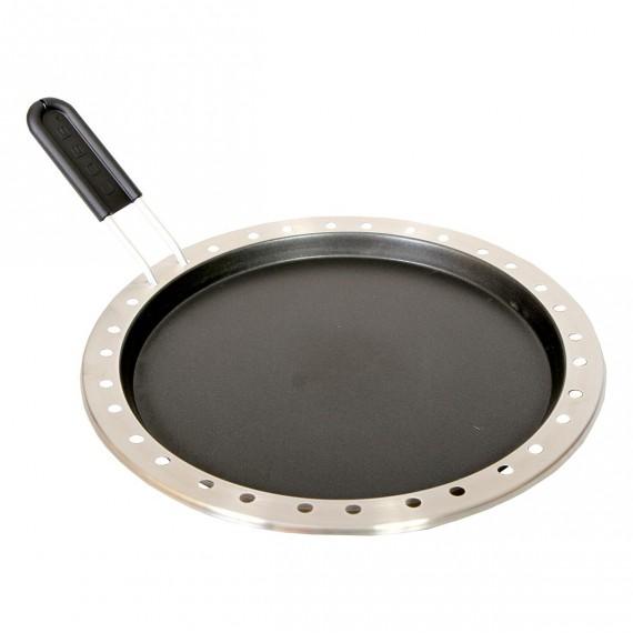 Poêle de cuisson avec manche