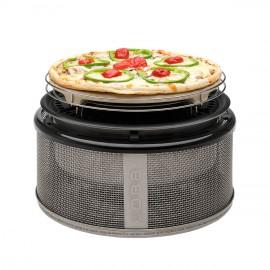Pierre à pizza en cordiérite